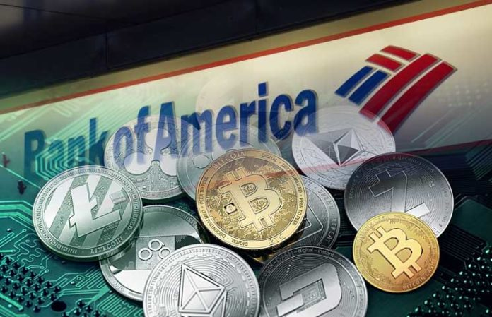 Bank of America Files for Cryptocurrency Storage Patent