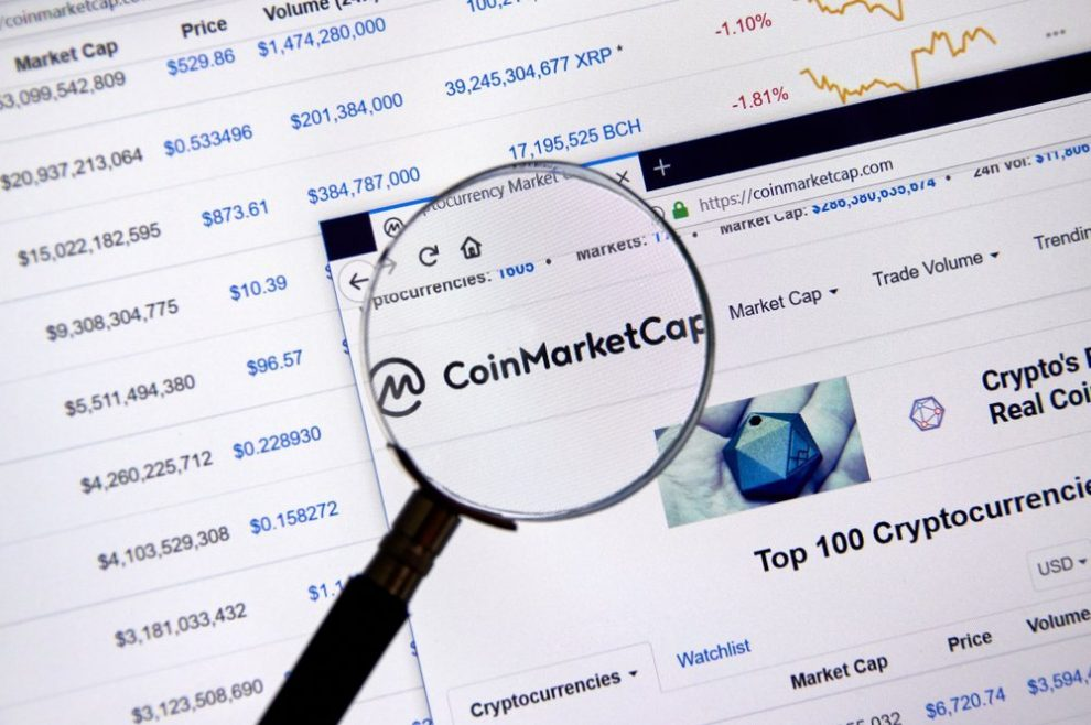 CoinMarketCap launches Professional API and New features