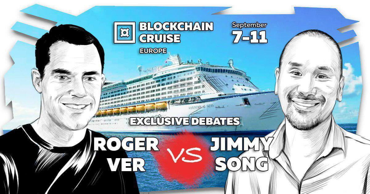 Photo of Crypto Debates…On A Boat: Roger Ver and Jimmy Song to Hash Out Their 'Bitcoin' Differences