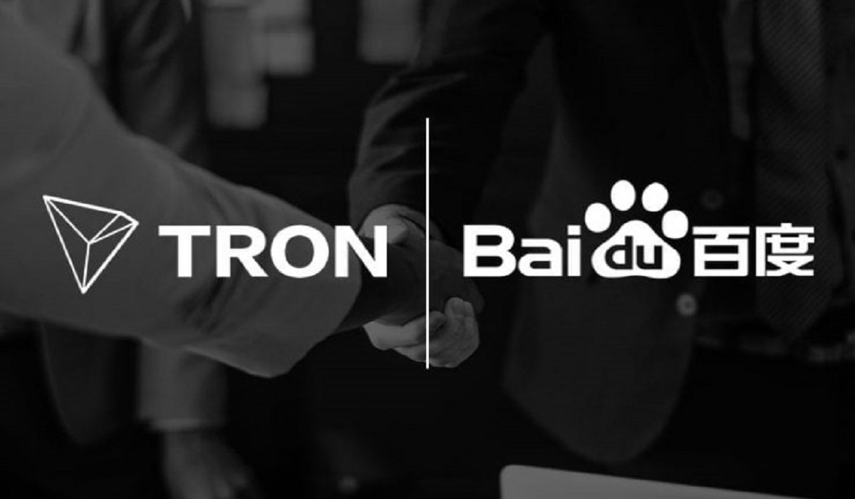 Baidu and TRON to Work Together