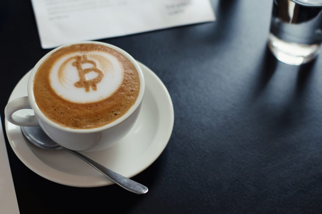Drink Cappuccino and Pay in Cryptos