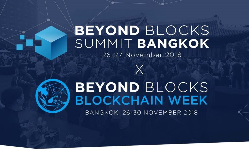 Beyond Blocks Returns With Summit Bangkok & Beyond Blocks Blockchain Week