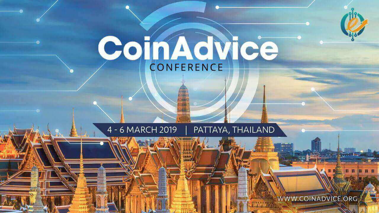 Photo of Thailand to Host Coinadvice Conference 2019