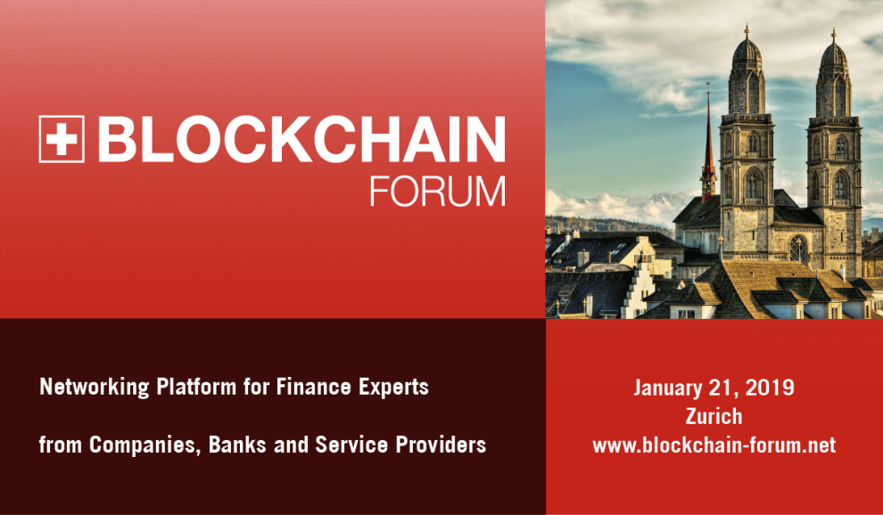 Blockchain Forum 2019
