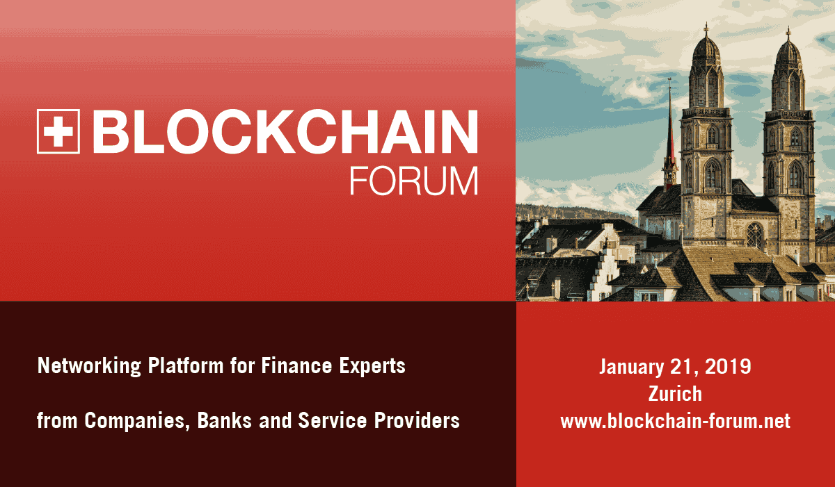 Photo of Blockchain Forum 2019 : Blockchain Conquers Swiss Business