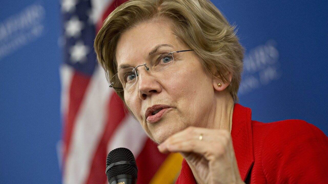 Photo of Crypto Critic Elizabeth Warren To Contest in 2020 Presidential Election in the United States