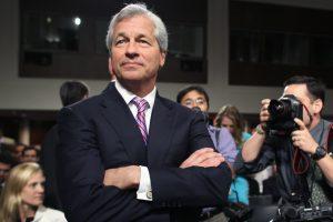 Jamie Dimon, the JP Morgan CEO