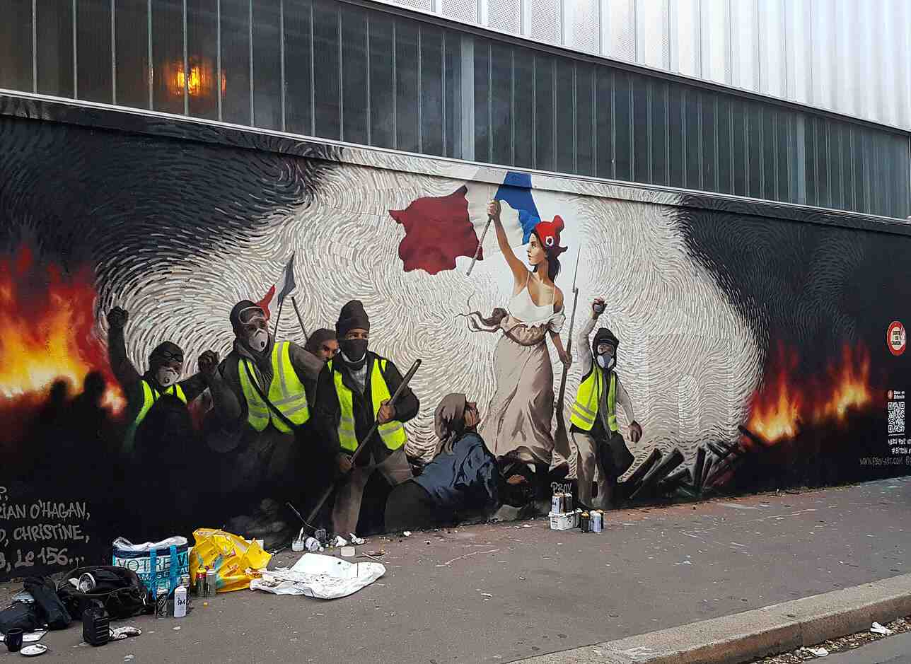Photo of Paris Street artist hides BTC inside a mural; the Hunt Kicks Off, Reward Growing