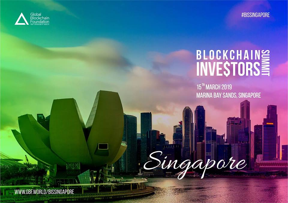 Photo of Blockchain Investors Summit is Going to be Held on 14-15 March in Singapore