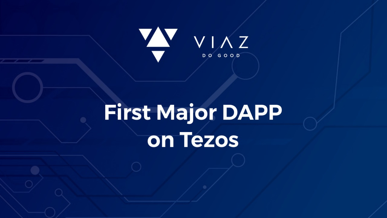 Photo of An Exclusive Interview With COO of VIAZ, First Major Dapp on Tezos