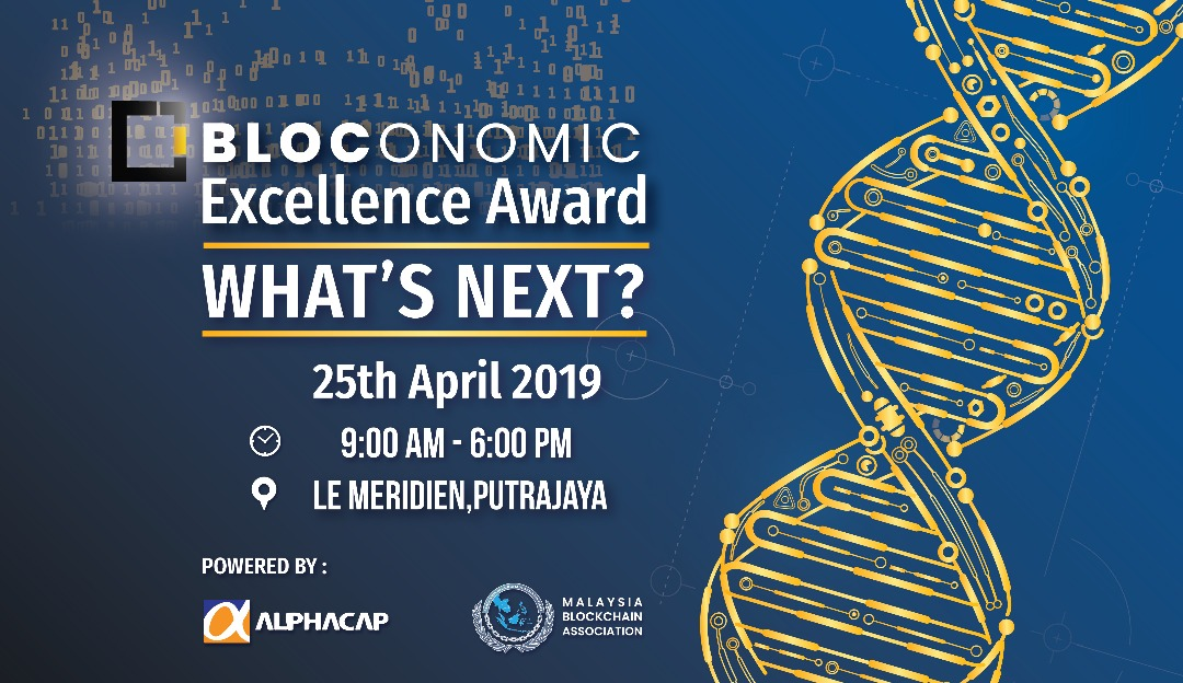 Photo of Bloconomic Excellence Award 2019 aims to bring together the leader of blockchain industry into the heart of South East Asia