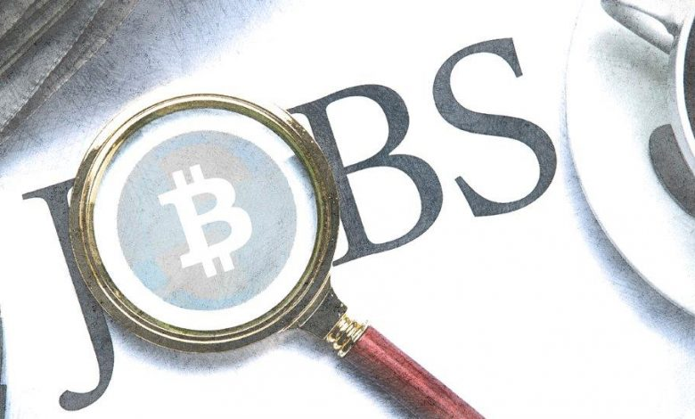 Cryptocurrency Job Openings
