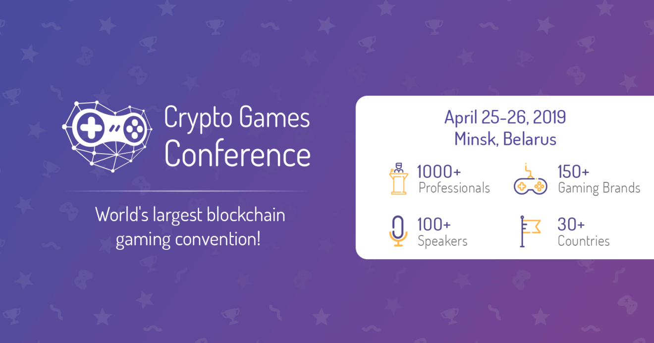Photo of The third Crypto Games Conference is announced April 25-26, 2019 – Minsk, Belarus Registration is open!
