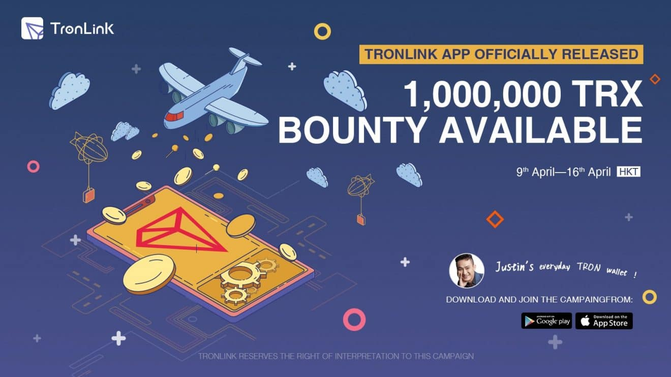 Photo of TronLink App Leaps to #1 Rank Within 6 Months; Allows Its Users to Share 1,000,000 TRX by Proportion