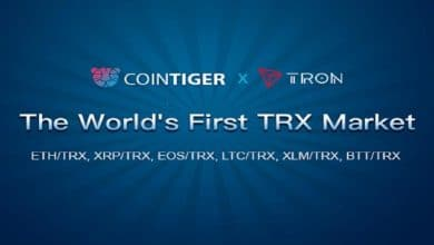 Photo of World's First Ever TRX Market To Be Added by CoinTiger; Participate Now For TRX 1,000,000 and BTT 3,000,000