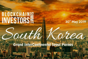 Blockchain Investors Summit south korea