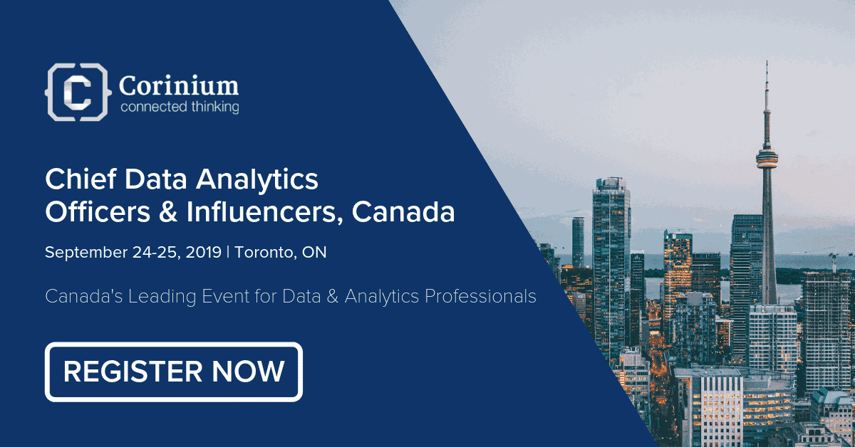 Photo of Canada's Leading Event for Data & Analytics Professionals on September 24-25, 2019!