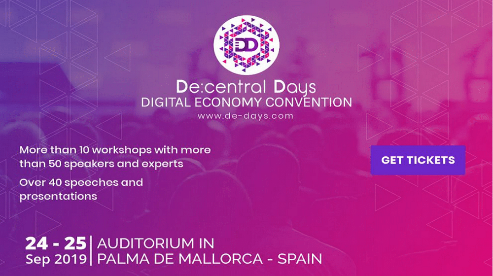 Photo of De:central Days 2019 – Inside the world's digital economy!