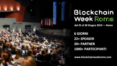 Photo of Blockchain Week Rome will be an Opportunity Without Precedents to Experience the Cryptocurrencies World