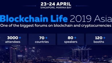 Photo of 3000 Attendees Gathered at Blockchain Life forum in Singapore