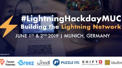 Photo of The 5th Bitcoin Lightning Network Hackday to be held in Munich on June 1st/2nd 2019