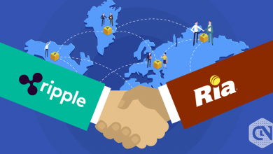 Ripple partners with Ria financial