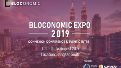 Photo of Blockchain key players to gather in Bloconomic Expo 2019