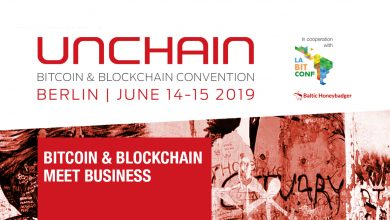 Photo of Berlin: Next month UNCHAIN Convention 2019 will set up a get-together with state of the art crypto voices again, amongst others Tone Vays and Brock Pierce