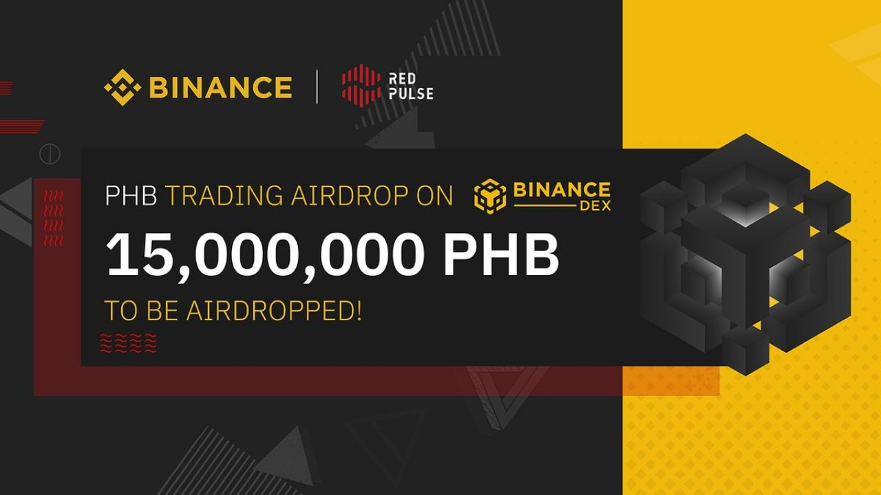 Binance and Red Pulse Will Conduct 15,000,000 PHB Trading