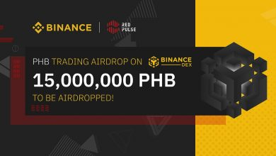 Binance and Red Pulse Will Conduct 15,000,000 PHB Trading Airdrop
