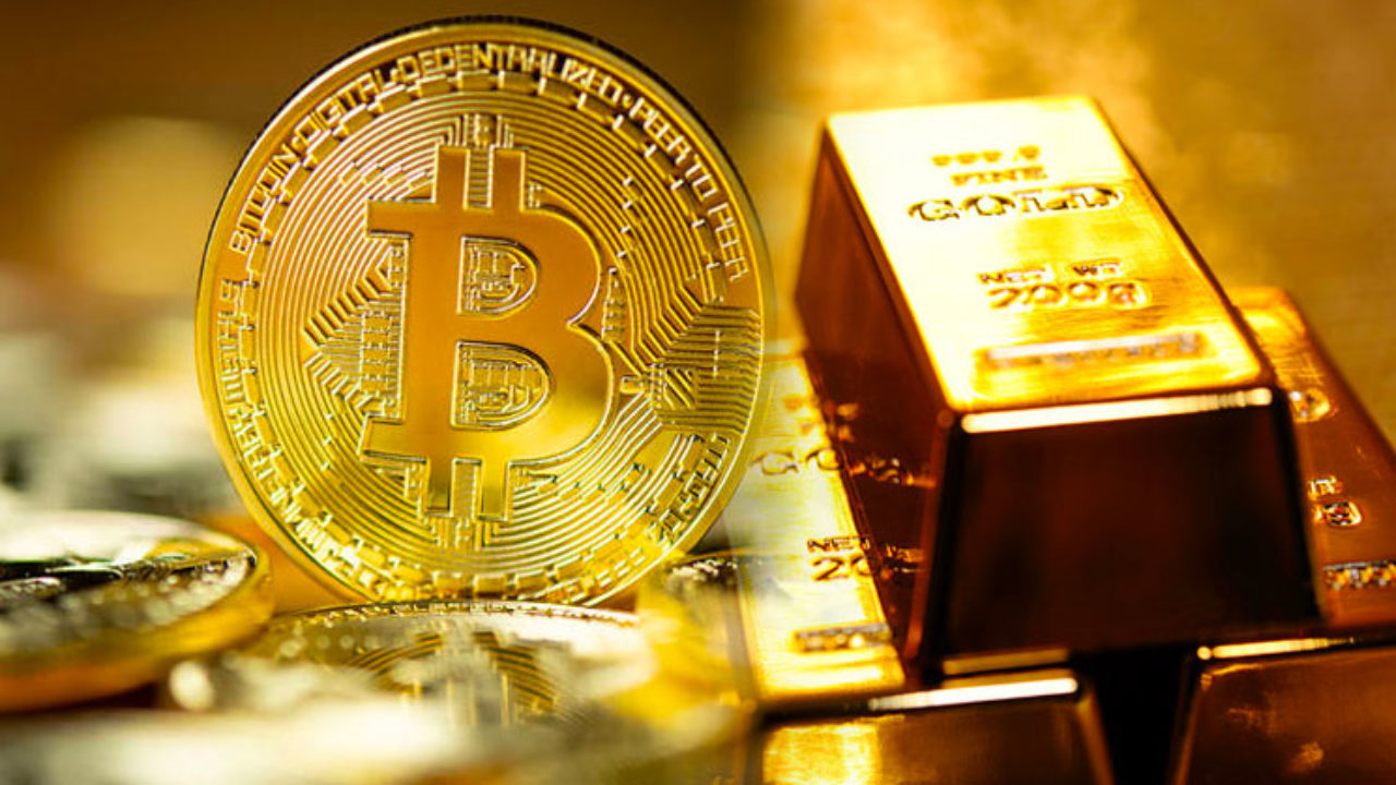 Image result for bitcoin and gold