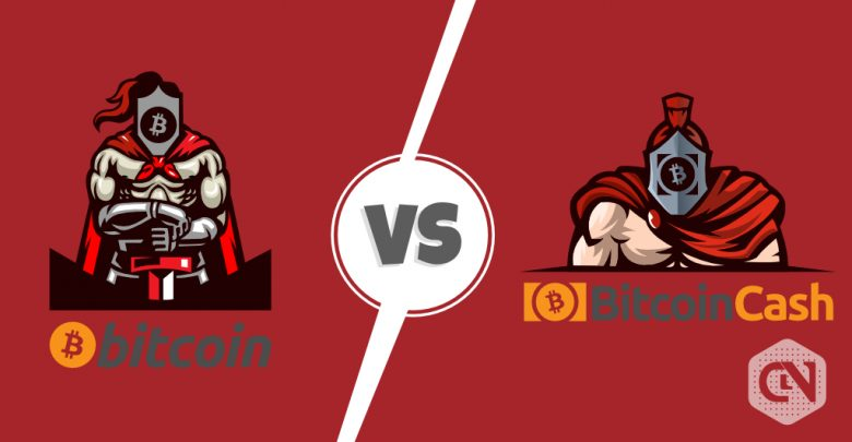 Bitcoin vs Bitcoin Cash News