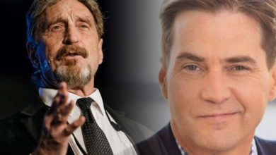 Craig Wright and John McAfee