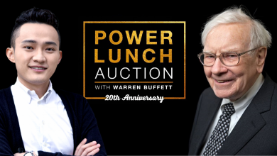Justin Sun's 20th Annual eBay Power of Lunch with Warren Buffett - 2019