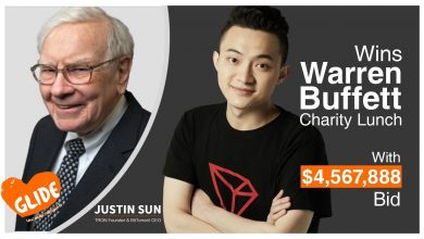 Photo of Tron Founder Justin Sun's Meets Warren Buffett Over 20th Anniversary Charity Lunch
