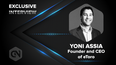 Photo of eToro's CEO And Founder, Yoni Assia Speaks Exclusively With CryptoNewsZ