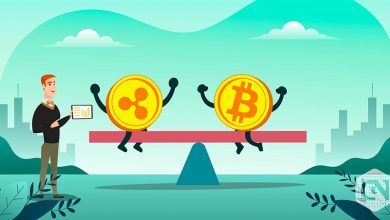 Photo of Ripple vs Bitcoin: XRP Recovers after Turbulence, BTC Approaches Key Support at $10k