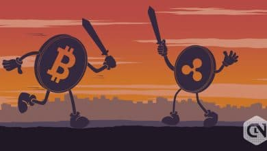 Photo of Bitcoin Vs. Ripple: The Value of XRP and BTC Dropped by More Than 3% Since Yesterday's Highest