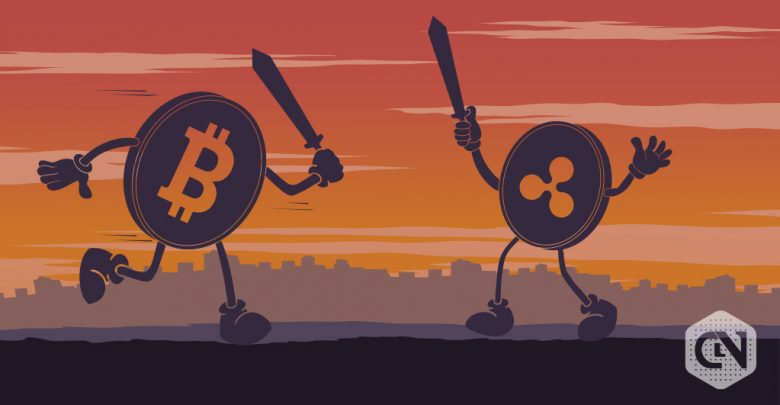 Bitcoin and Ripple
