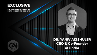 Photo of CEO and Co-Founder of Endor, Dr. Yaniv Altshuler Speaks Exclusively With CryptoNewsZ