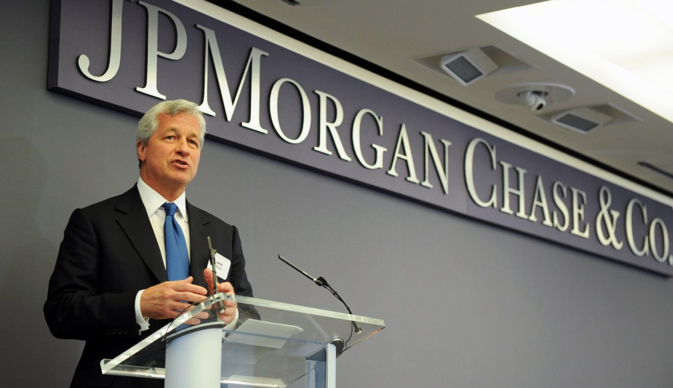 JP Morgan's CEO Comments About the Effect of Facebook's