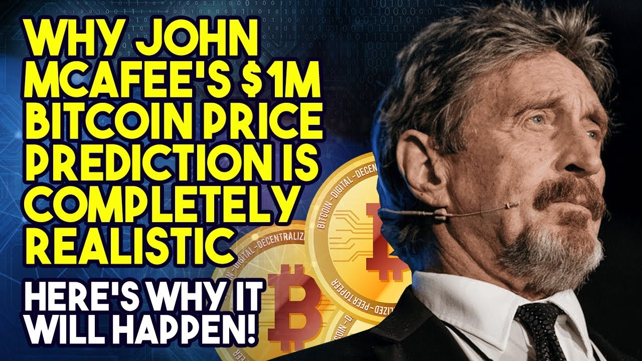 John McAfee Bitcoin Prediction