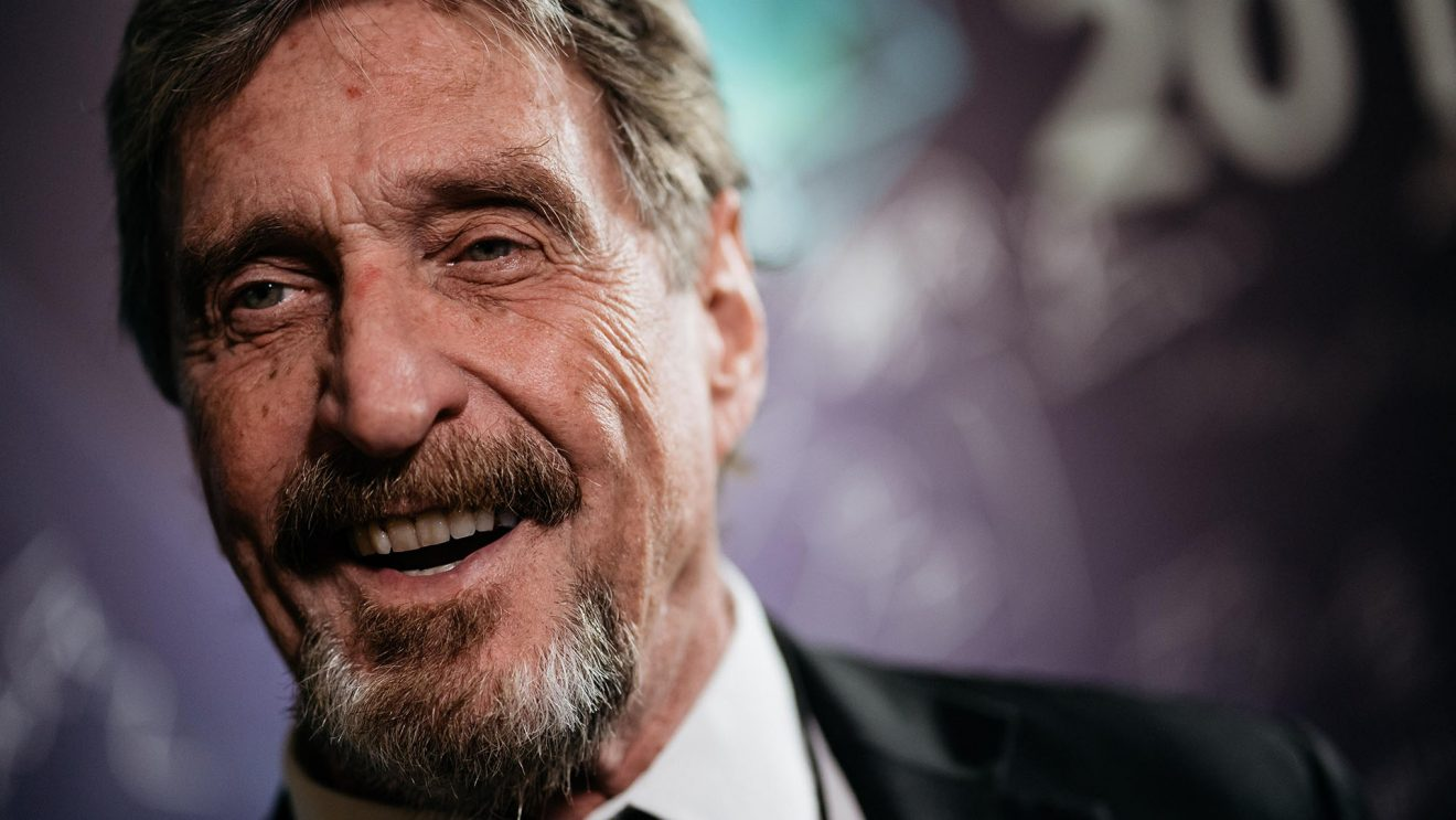 John McAfee Laugh