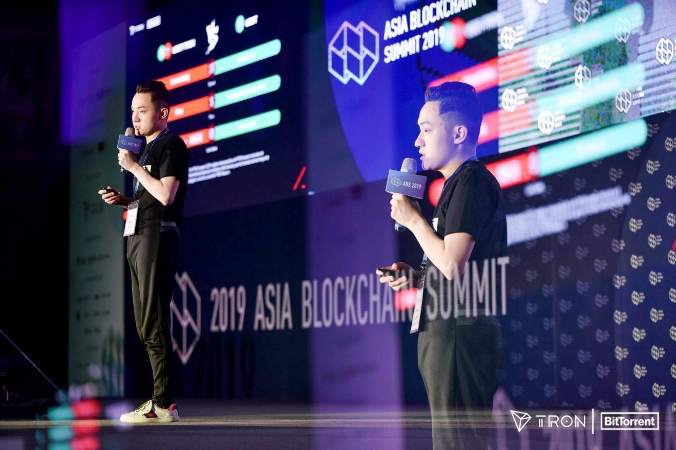 Justin Sun Speaks At Asia Blockchain Summit 2019