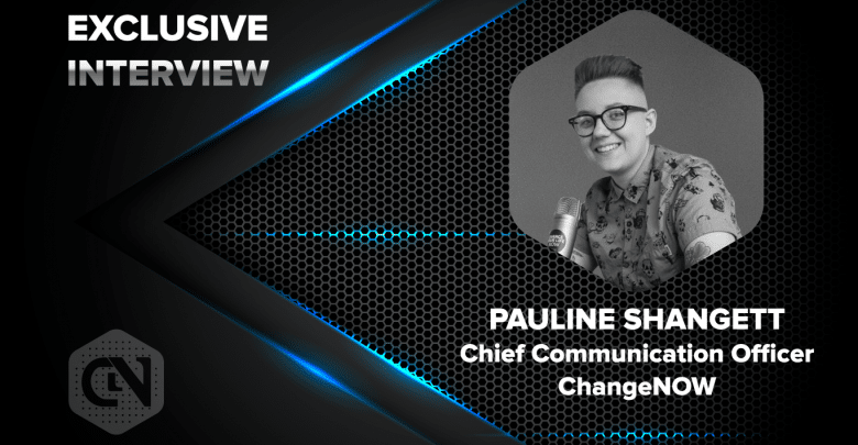 Photo of Pauline Shangett, Chief Communication Officer (CCO) of ChangeNOW in an exclusive interview with CryptonewsZ