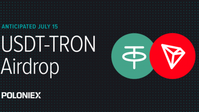 Poloniex and KuCoin Support USDT-TRON Airdrop