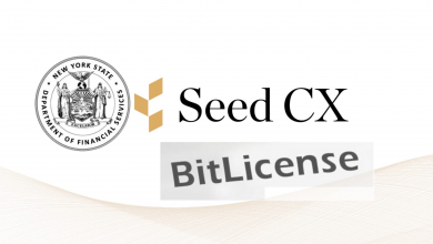Photo of Subsidiaries of Seed CX Bag BitLicense from the NYDFS