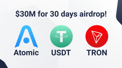 TRON-USDT Airdrop Worth $30 million - Atomic Wallet