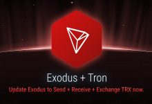 TRON joins Exodus