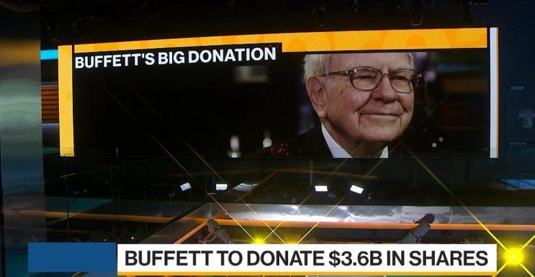 Warren Buffett Donate